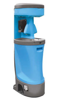 portable handwash sink and sanitizing station